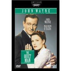 quiet man starring john wayne & maureen o'hara DVD 1999 republic artisan used mint