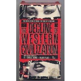 decline of the western civilization by penelope spheeris VHS used mint