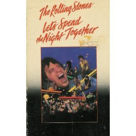 rolling stones - let's spend the night together VHS 1982 raindrops 94 mins mint