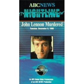 john lennon murdered VHS 1990 MPI 30 minutes used mint