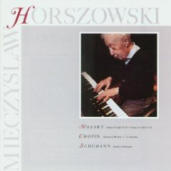 mieczyslaw horszowski - mozart chopin schumann CD 1988 elektra nonesuch used mint