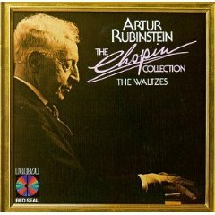 rubinstein - chopin collection the waltzes CD 1984 RCA used mint