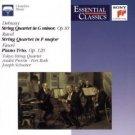 debussy ravel faure - tokyo string quartet previn & schuster CD 1996 sony used mint