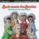 bach meets the beatles - variations in the sytle of bach CD 1984 intersound 1993 proarte mint