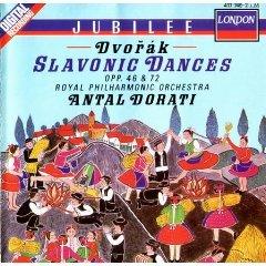 dvorak - slavonic dances opp. 46 & 72 dorati CD 1988 decca mint