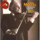 lorin maazel - virtuoso violin - barton weber CD 1996 RCA used mint
