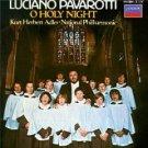 luciano pavarotti - o holy night - adler & national phil CD 1984 polygram BMG Dir.