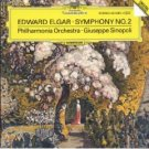 elgar - symphony no.2 - philharmonia orchestra with giuseppe sinopoli CD 1988 DG polydor mint