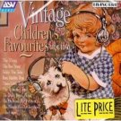 vintage children's favourites 1926 - 1950 CD 1999 ASV london BMG Direct new