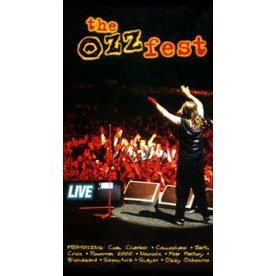 the ozzfest live VHS 1996 red ant 90 minutes used good