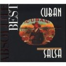 absolute best - cuban salsa CD 1999 proper records made in EEC 13 tracks used