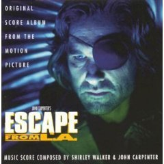 escape from L.A. - shirley walker & john carpenter CD 1996 milan used mint