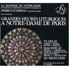 Grandes Heures Liturgiques à Notre-Dame de Paris CD RCA made in france 15 tracks mint