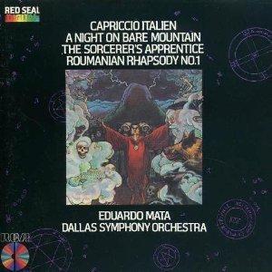 capriccio italien, a night on bare mountain, sorcerer's apprentice - DSO & mata CD 1982 RCA japan