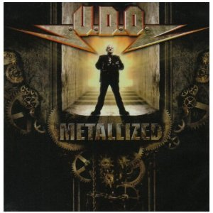 U.D.O. - metallized CD 2008 locomotive records used mint