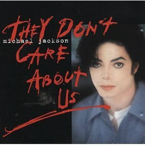 michael jackson - they don't care about us CD ep 1996 sony epic 8 tracks used mint