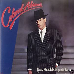 colonel abrams - you and me equals us CD 1987 MCA used mint