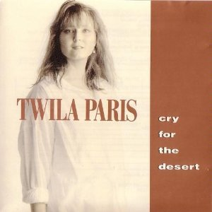 twila paris - cry for the desert CD 1990 star song used mint