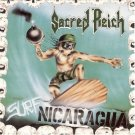 sacred reich - surf nicaragua CD 1988 metal blade used mint