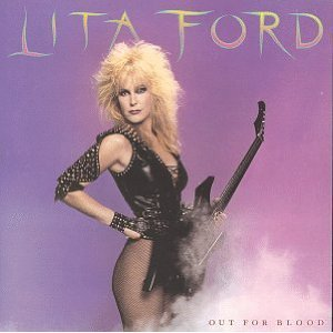 lita ford - out for blood CD 1983 polygram used mint