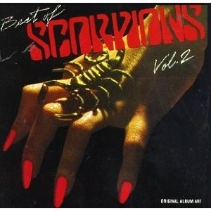 scorpions - best of scorpions vol.2 CD 1984 RCA used mint inserts punched