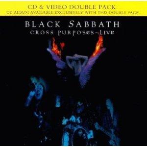 black sabbath - cross purpose live CD 1995 IRS EMI 13 tracks used mint