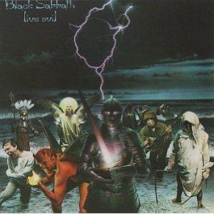 black sabbath - live evil CD 2-disc set 1982 warner used mint