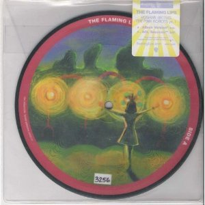 """flaming lips - Yoshimi Battles The Pink Robots Part 1 - 7""""vinyl picture disc #3237 used mint"""
