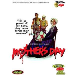charles kaufman's mother's day - Tiana Pierce Nancy Hendrickson DVD 2000 troma used mint