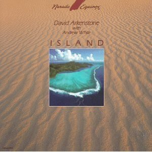 david arkenstone with andrew white - island CD 1989 narada used mint