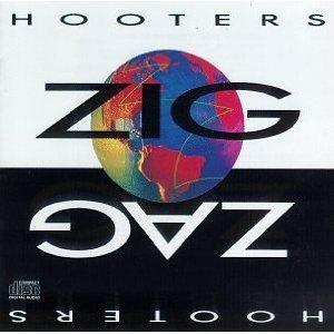 hooters - zig zag CD 1989 CBS sony used