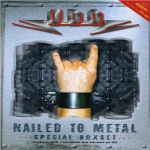 U.D.O. - nailed to metal CD & DVD 2-disc set 2003 AFM used mint