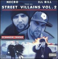 necro + ill bill - street villains vol. 2 CD 2005 psycho + logical used mint