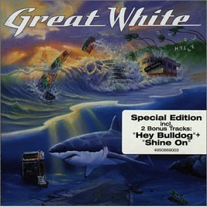 great white - can't get there from here CD 1999 portrait 14 tracks used mint