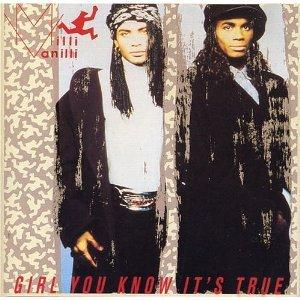 milli vanilli : girl you know it's true CD 1988 1989 arista BMG Dir used mint