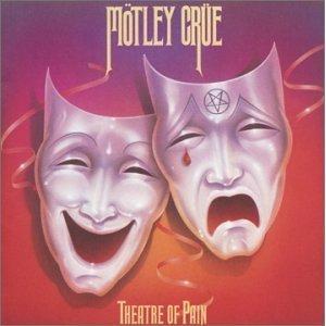 motley crue - theatre of pain CD 1985 elektra BMG Direct 10 tracks used mint