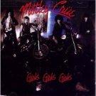 motley crue - girls girls girls CD 1987 elektra BMG Direct used mint