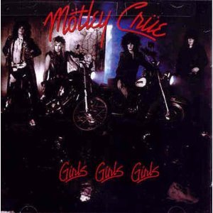 motley crue - girls girls girls CD 1987 elektra BMG Direct used mint