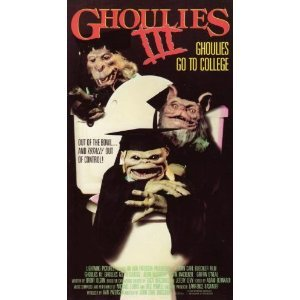 ghoulies III - Thom Adcox-Hernandez, Andrew Barach VHS 1991 vestron 94 mins used VG