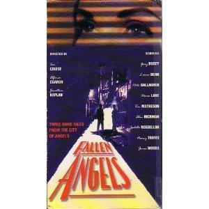 fallen angels - Laura Dern, Alan Rickman, James Woods VHS 1993 polygram used VG