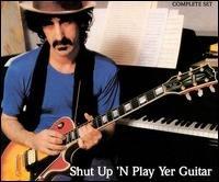 frank zappa - shut up 'n play yer guitar CD 2-disc box 1981 1986 rykodisc used mint