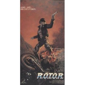 r.o.t.o.r. starring Margaret Trigg, Richard Gesswein, Jayne Smith VHS 1988 imperial used VG