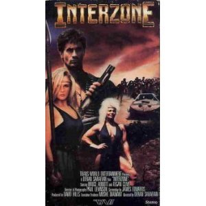 interzone starring bruce abbott and tigan clive VHS 1989 trans world color 92 min used