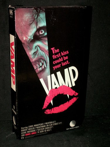vamp - chris makepeace robert rusler gedde watanabe grace jones VHS 1986 balcor new world used