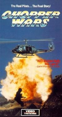 chopper wars - richard lynch VHS 1989 video treasures 57 minutes color used