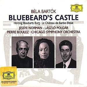 bela bartok - bluebeard's castle CD 1998 deutsche grammophon polygram used mint