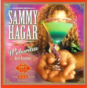 sammy hagar and the waboritas - red voodoo CD 1999 MCA used mint