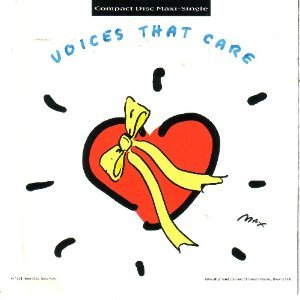 voices that care CD 1991 giant warner 4 tracks used mint