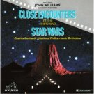 john williams - close encounters of the third kind & star wars CD 1978 RCA used mint
