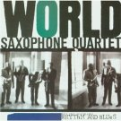 world saxophone quartet - rhythm and blues CD 1989 elektra asylum nonesuch used mint